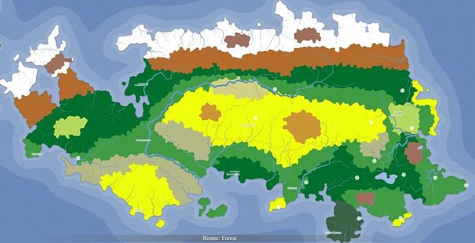Magius map biomes