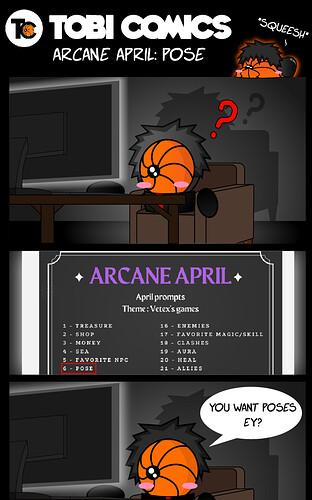 Arcane April_Pose1