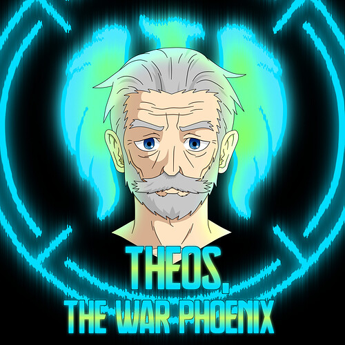 Old Theos Blue