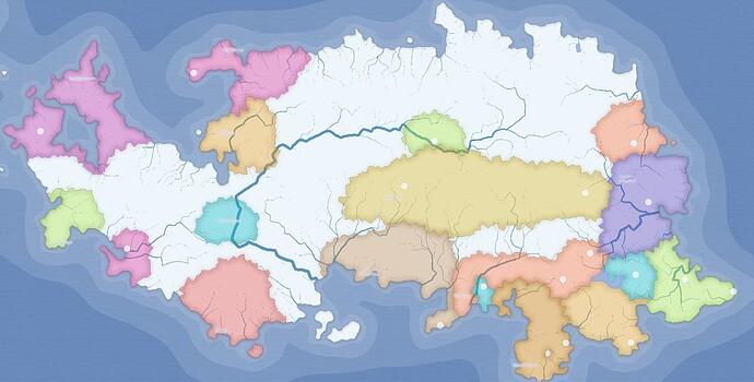 Magius map states