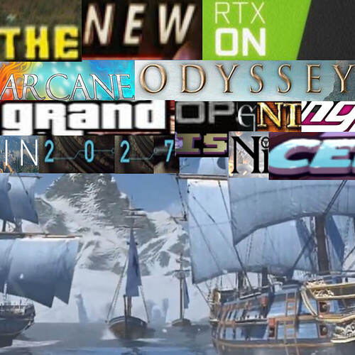 The new Arcane Odyssey grand opening in 2027 is nice