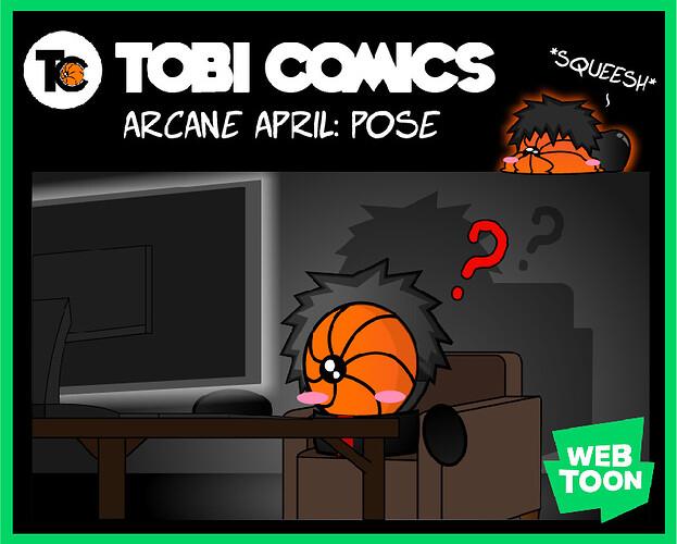 Arcane April_Pose1_coveer