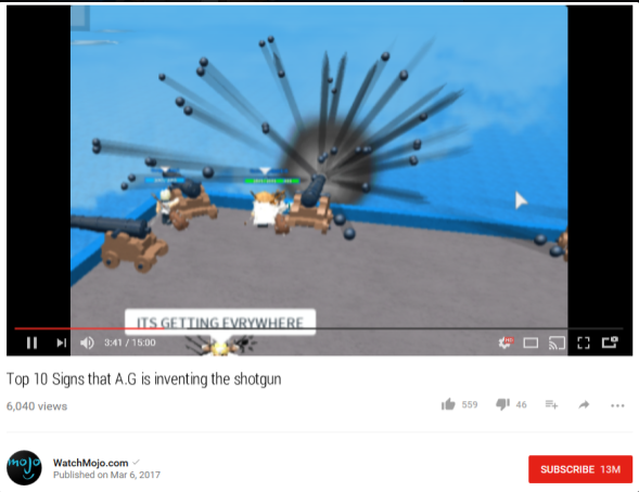 top 10 signs that a.g is inventing the shotgun
